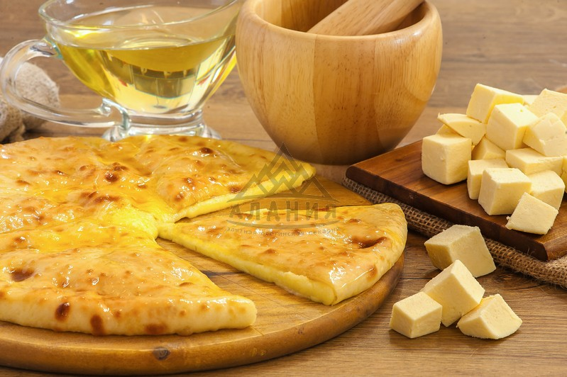 Pie with young Ossetian cheese - alania.com.ua